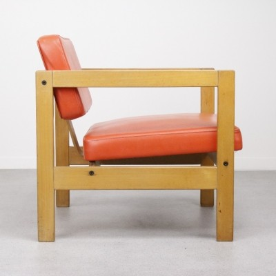 Plywood lounge chair, 1960s