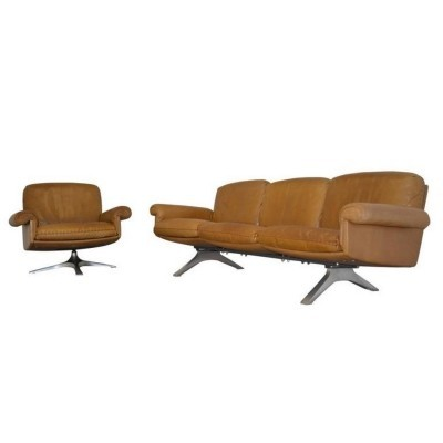DS 31 seating group by De Sede Design Team for De Sede, 1970s