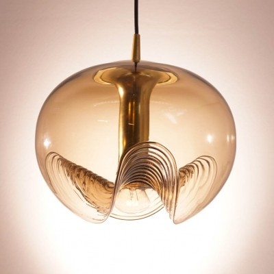 Peill & Putzler Wave Ceiling Lamp with Smoked Glass