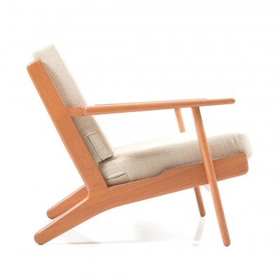 GE-290 Easychair in Teak by Hans J. Wegner