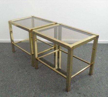Pair of Mara side tables, 1970s