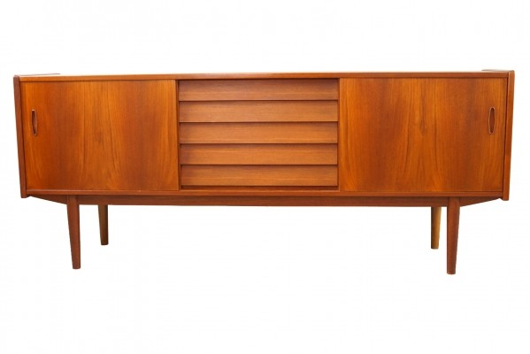 Teak Sideboard by Nils Jonsson for Hugo Troeds, Model Trio