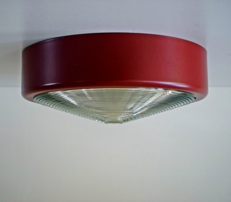 4 x ceiling lamp or wall lamp made of glass-Fresnel & painted metal