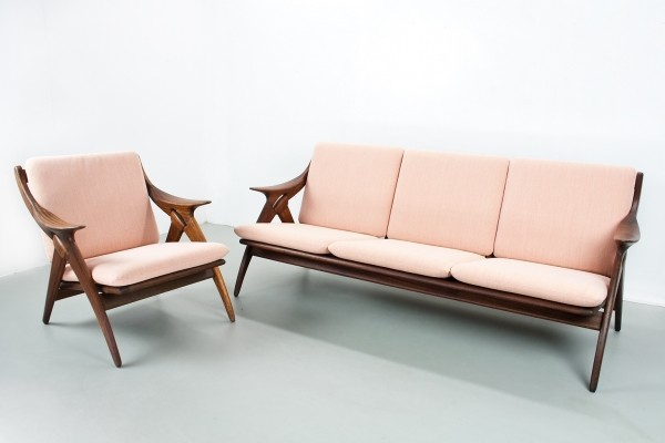 De Knoop seating group by De Ster Gelderland, 1960s