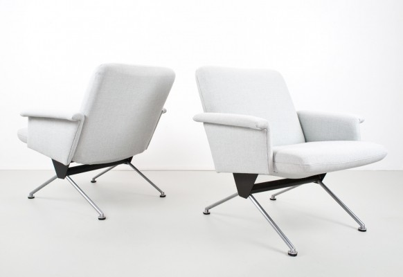 2 x model 1432 lounge chair by André Cordemeyer for Gispen, 1960s