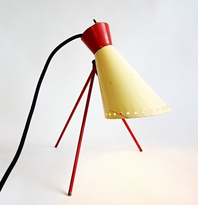 Desk lamp Type 1618 by Hůrka Josef for Napako, 1960s