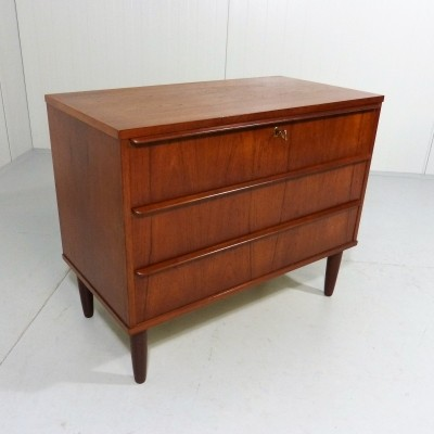 Teak Chest of Drawers from Denmark