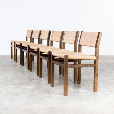 Set of 6 dinner chairs by Martin Visser for Spectrum, 1960s