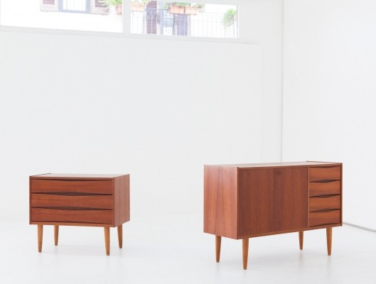 Pair of vintage cabinets, 1950s