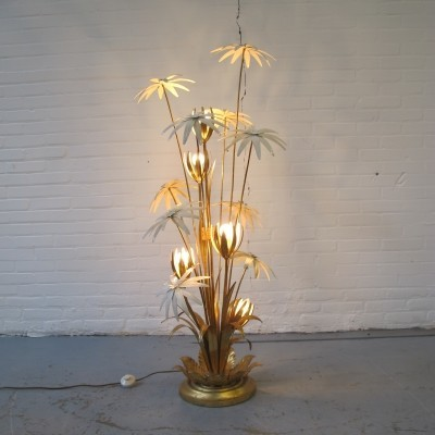 Flower floor lamp by Hans Kögl, 1970s