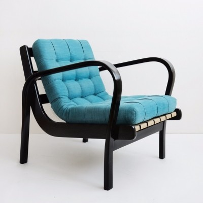 Pair of arm chairs by Karel Kozelka & A. Kropacek for Interier Praha, 1930s