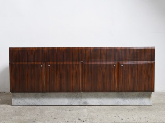 Large Brutalist Sideboard by the De Coene Freres, Belgium 1960s