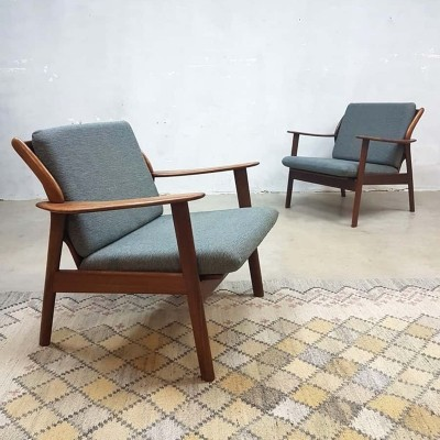 Pair of De Ster arm chairs, 1960s
