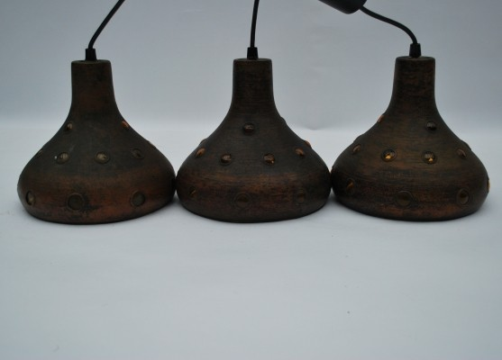 Set of 3 hanging lamps by Nanny Still for Raak Amsterdam, 1960s