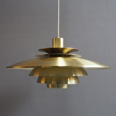 Verona hanging lamp by Jeka Metaltryk, 1960s