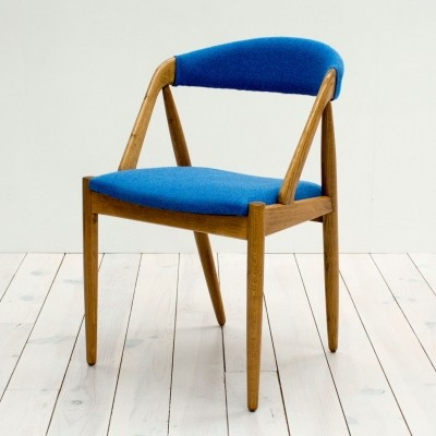 Dinner chair by Kai Kristiansen for Schou Andersen SVA Møbler, 1960s