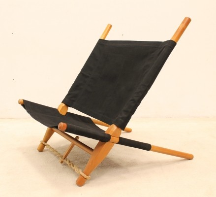 Saw lounge chair by Ole Gjerløv Knudsen for Cado, 1950s
