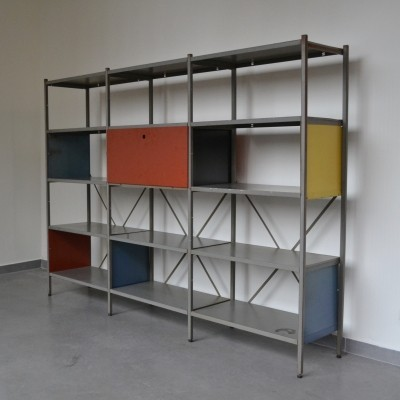 Model No. 663 cabinet by Wim Rietveld for Gispen, 1950s