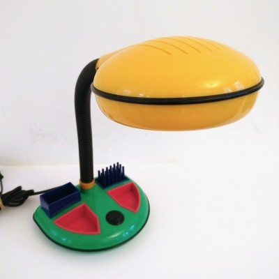 Desk lamp - organiser by Rabbit Tanaka Corp, 1980s