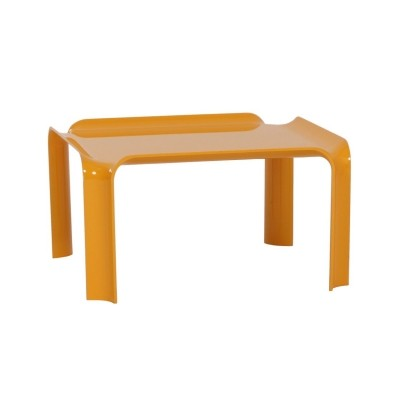 Small Yellow Coffee Table 877 by Pierre Paulin for Artifort, 1960s