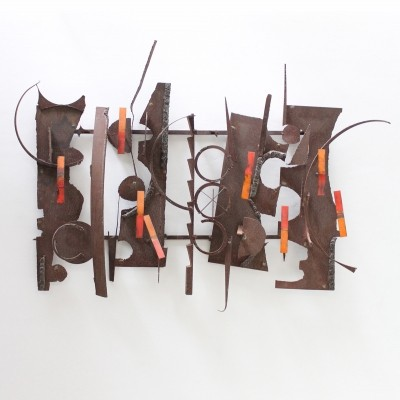 Large Wall Sculpture by Hendrik Horst
