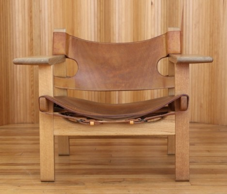 Model 226 lounge chair by Børge Mogensen for Fredericia Stolefabrik, 1950s