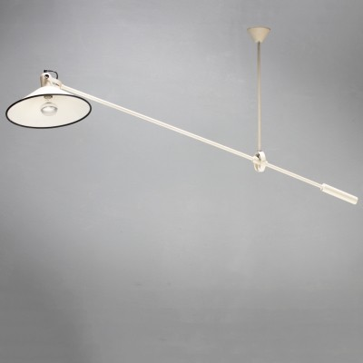 Anvia Counterbalance Ceiling Lamp by J.J.M. Hoogervorst, Dutch 1950s