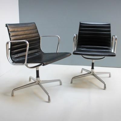 Pair of Chairs EA108 by Eames for Herman Miller