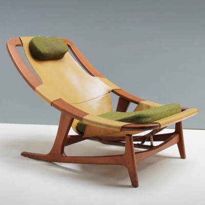 Lounge Chair 'Holmenkollen' by Arne Tidemand Ruud for Norcraft