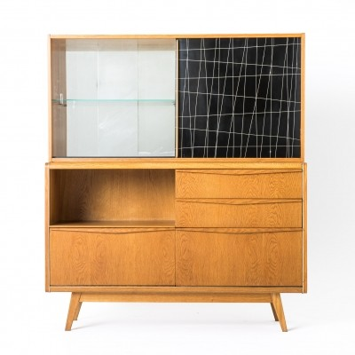 Bar cabinet by Bohumil Landsman for Jitona Soběslav, 1960s