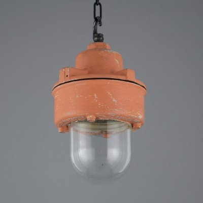 3 x Walsall hanging lamp, 1950s