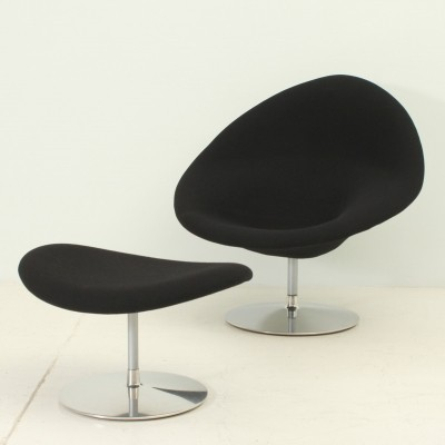 Globe Chair & Ottoman by Pierre Paulin for Artifort