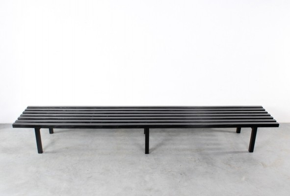Slat bench by Gijs Bakker for Castelijn, 1980s