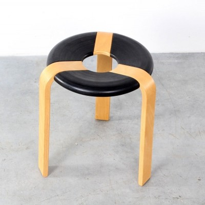 Stool by Rud Thygesen & Johnny Sørensen for Magnus Olesen, 1970s
