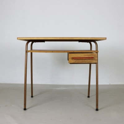 Small French style ladies children desk, 1950s