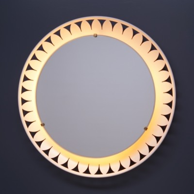 Illuminated Mirror by Ernest Igl for Hillebrand