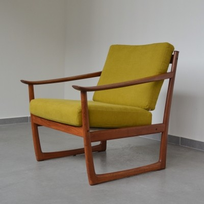 FD130 lounge chair by Peter Hvidt & Orla Mølgaard Nielsen for France & Son, 1960s