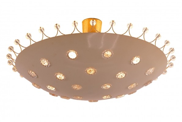 Mid-Century Flush Mount by Emil Stejnar for Rupert Nikoll