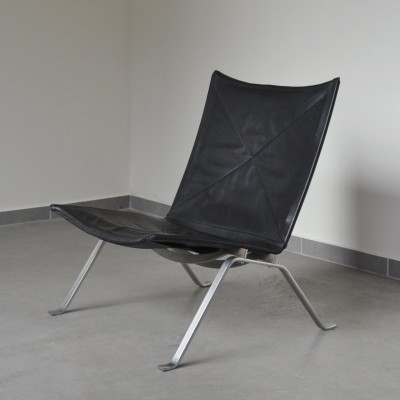 PK22 lounge chair by Poul Kjærholm for E. Kold Christensen, 1950s