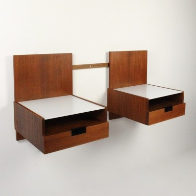 Japanse serie Bedside tables by Cees Braakman for Pastoe, 1950s