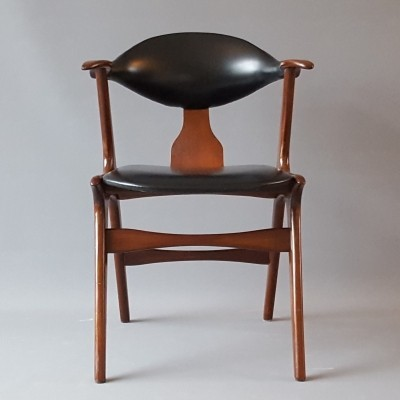 Cow Horn Chair by Louis van Teeffelen for Wébé