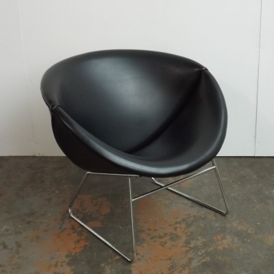 Slice lounge chair by J. H. Rohé for Rohé Noordwolde, 1960s