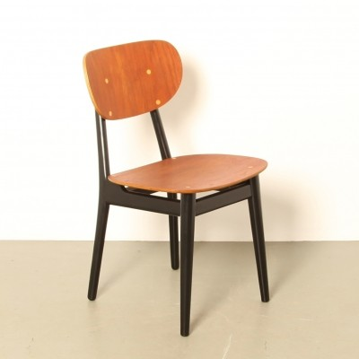 7 x SB11 dining chair by Cees Braakman for Pastoe, 1950s