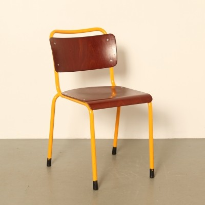 Gispen 1252 military stacking chair