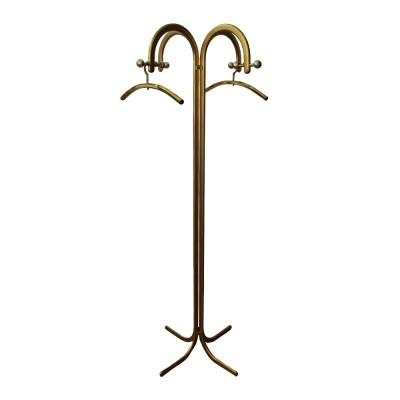 Mid-Century coat stand with two hangers, 1970s