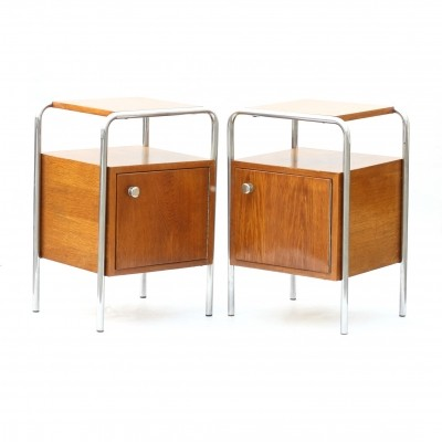 2 x Model N6 side table by Kovona NP, 1960s