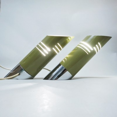 Pair of Oblic desk lamps by Reggiani, 1960s