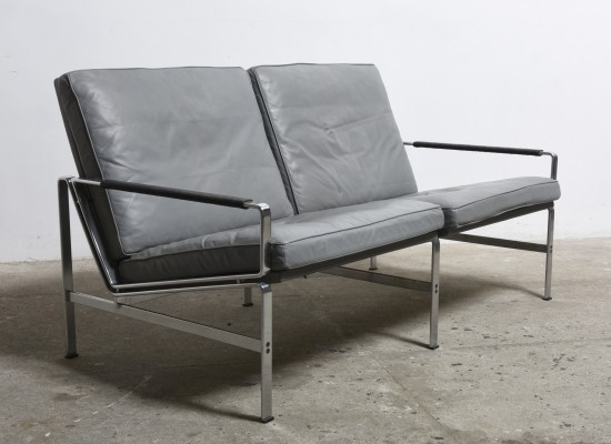 FK 6720 Two-seat sofa by Fabricius & Kastholm for Kill International, 1968