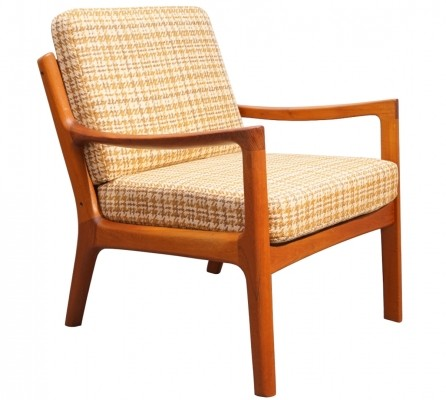 Teak Senator Chair by Ole Wanscher for France & Son