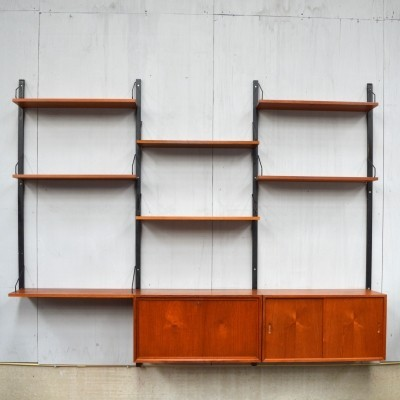 Cadovius 'Royal' wall unit in Teak, 1950s